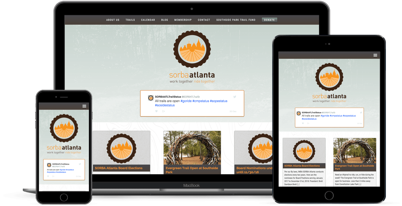 SORBA Atlanta Website