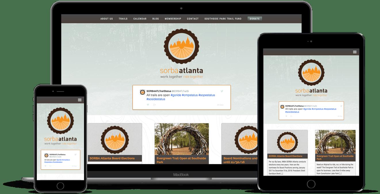 SORBA Atlanta Website