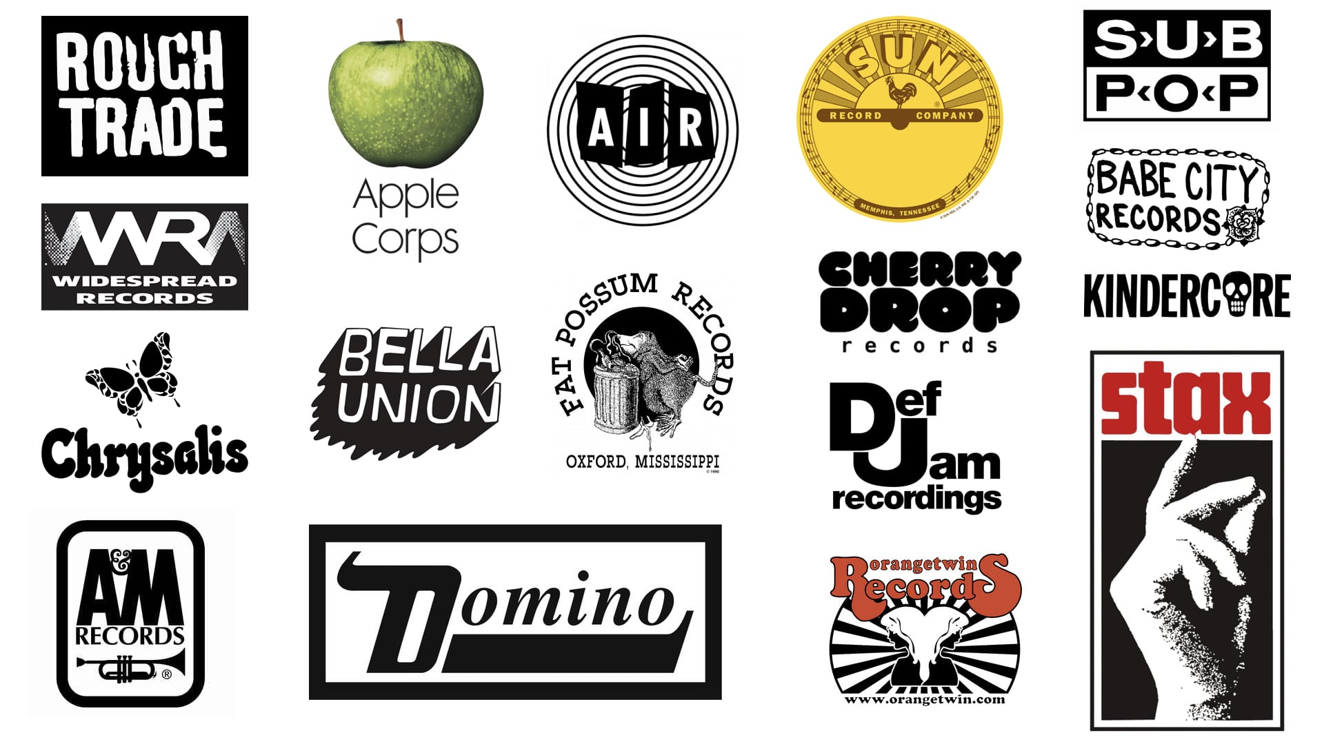 Indie record labels