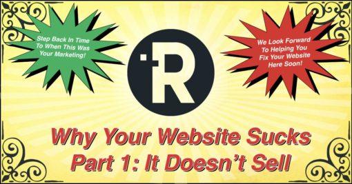 Why Your Website Sucks - Part 1