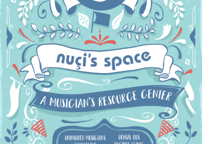 Nuci's Space Greenroom Poster