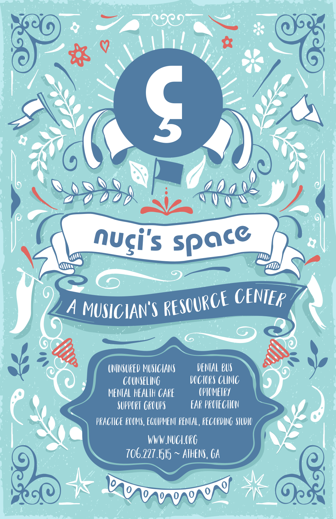 Nuci's Space Green Room Poster
