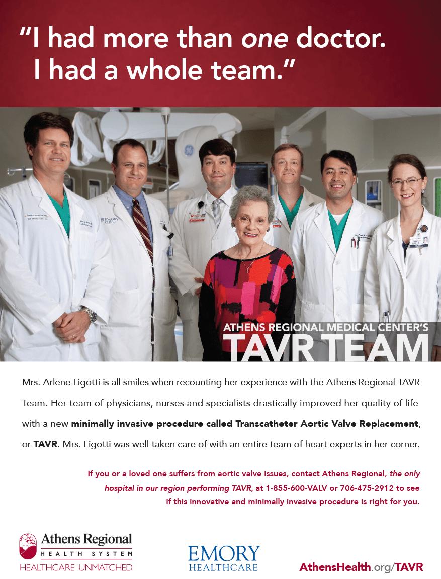 ARHS TAVR advertisement