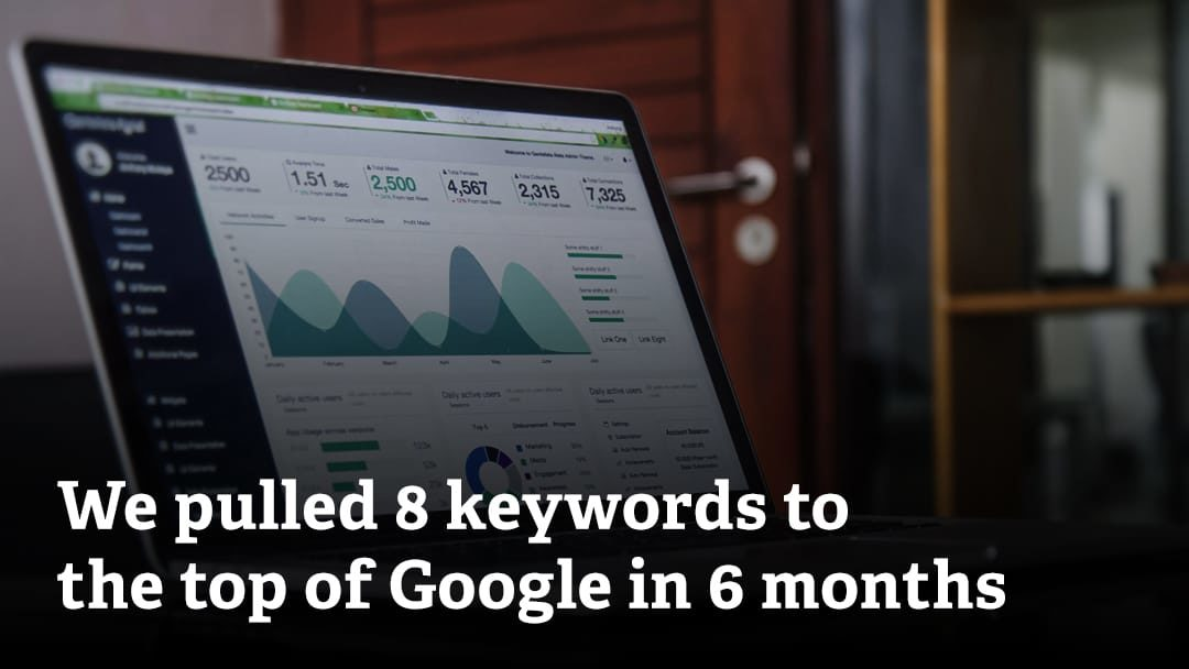 Athens SEO – Our six month results